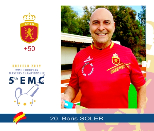 BORIS CROMO EUROPEO 2019